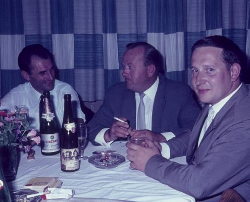 Sommerfest: Siegfried Freitag, Horst Lechner & Dieter Nerlich