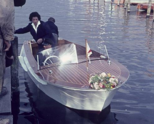 Motorboot Erwin Uhse
