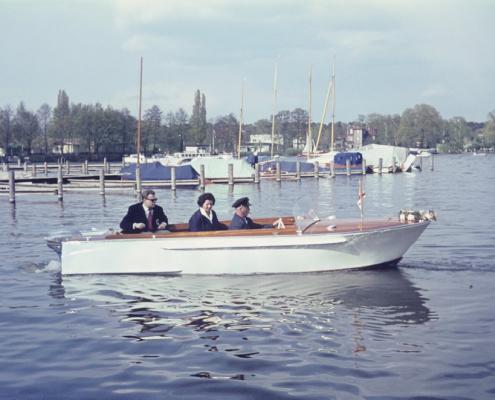 Motorboot: Gerhard Virgils, Inge Virgils & Erwin Uhse