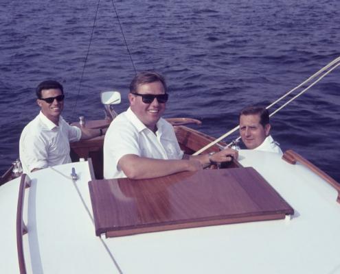 60sm-Wettfahrt: Werner Kunze, Horst Küchlin & Dietrich Balzer