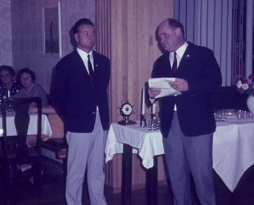 Preisverteilung: Kam. Pannoch & Heinz Schneider