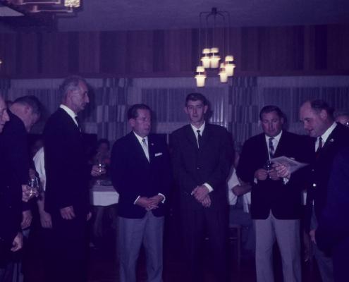 Erich-Segeletz-Gedächtnispreis: Paul Schlenger, Erich Krause, Gerhard Fischer, Bernhard Quellhorst, Horst Küchlin & Heinz Schneider