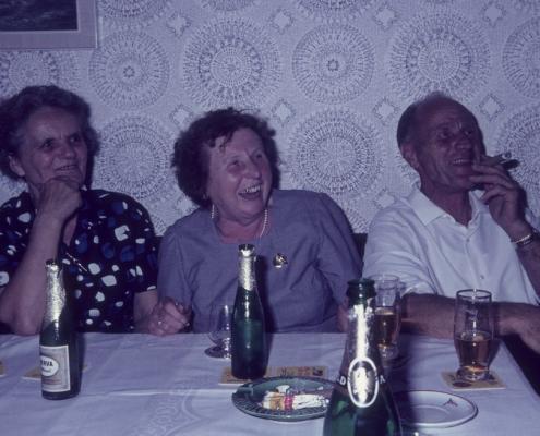Einweihung der Messe: Mulle Paulisch & Willy Paul mit Frau