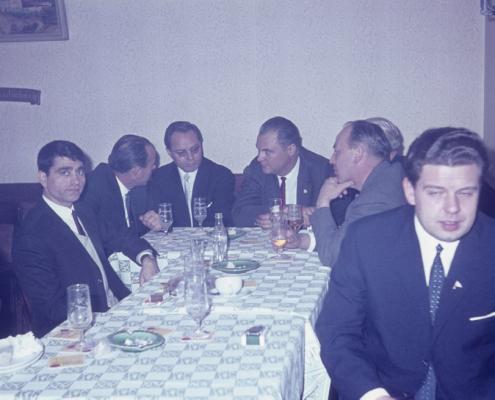 Bußtag Herrenfahrt: ??, Herbert Berlin, Kam. Gabriel jun., Günter Fritsche, Rudi Holle & Hugo Roßmann