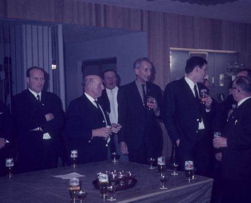 Bußtag Herrenfahrt: Hugo Roßmann, Kam. Redlich, Paul Schlenger, Herbert Berlin, Erich Krause, Jürgen Barth & Wilhelm Schindler