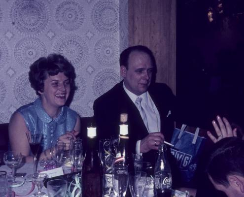 Silvester: Erika & Klaus Liesecke