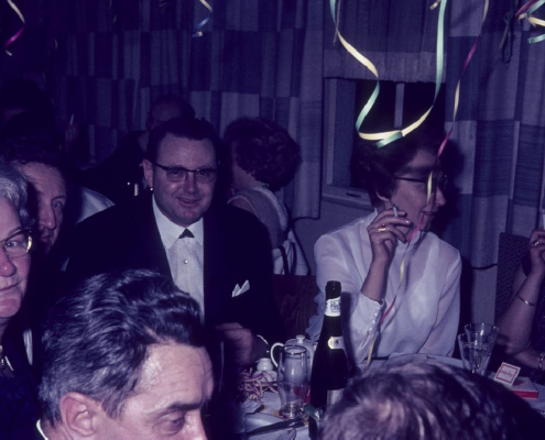 Silvester: Lotte Segeletz, Hermann Wollinger, Roderich Krey & Frau Gerda