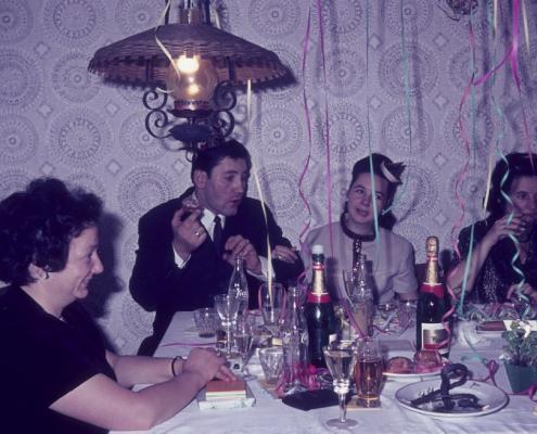Silvester: Ilse Küchlin, Jürgen und Regina Barth & Lotte Rothermund