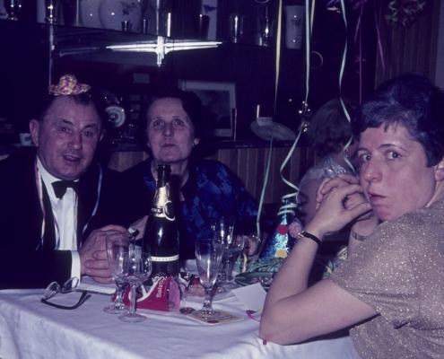 Silvester: Helmut und Editha Mohnecke & Herta Nölte
