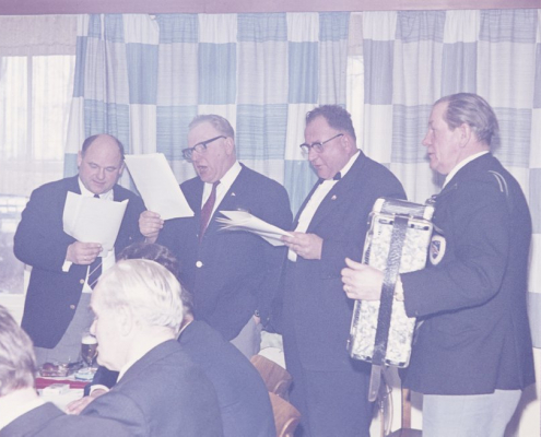 Karfreitag: Heinz Schneider, Rudi Hermann, Kurt Richter & Herbert Berlin