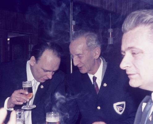 Karfreitag: Klaus Lisecke, Erich Krause & Heinz Boss