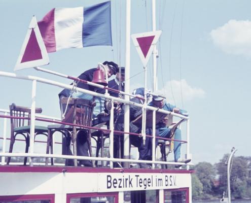 Korsar-Wettfahrt: Startschiff