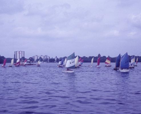 Pfingsten: Optimisten-Jahreswettfahrt Tegeler See