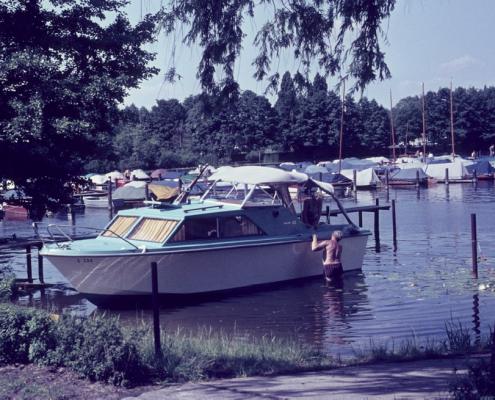Rudi Hermann's Motorboot