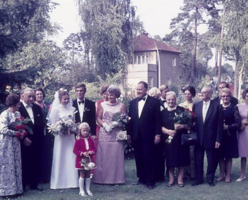 Hochzeit: Manfred und Evelyn Richter, Tegelort