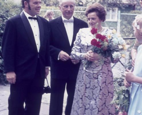 Hochzeit: Manfred und Evelyn Richter: Lothar Grünberg & Felix und Else Frost