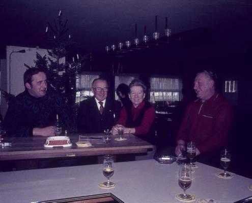 Wintergäste im SCN: Achim Schönfelder, Wilhelm und Jenny Schindler, Rudi Hermann & Horst Ketterling