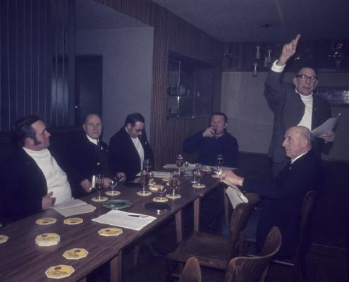 Karfreitag: ??, Willy Paul, Roderich Krey, Kam. Schleicher, Kam. Adam & Paul Schlenger