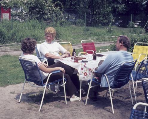 Hildegard Liebing, Gina Rückward & Horst Rückward