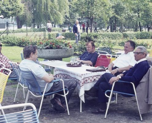 Sommer: Achim Schönfelder, Gerhard Virgils, Fred Lehmann, Kurt Richter & Bernhard Nölte