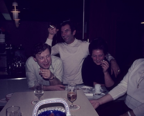 Abends im Club: Gerhard Virgils, Siegfried Freitag & Inge Virgils