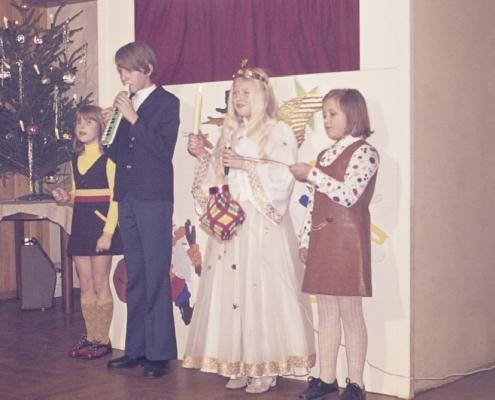 Weihnachtsfeier: Carla Liebing, Ralf Rothermund, Karola Lehmann & Manuela Virgils