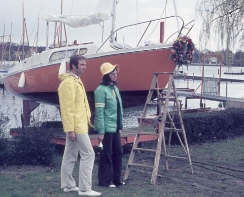 Bootstaufe Manfred und Renate Schröter's Varianta