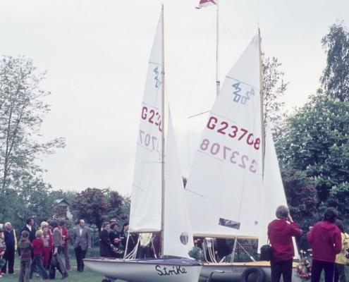 Bootstaufe 420er: 2. Jugendboot & Ebert
