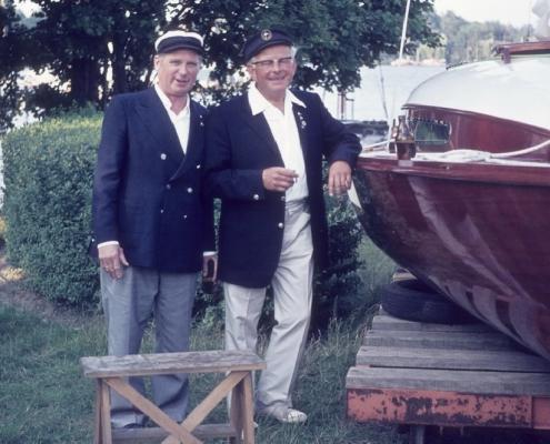 Bootstaufe ?? & Wolfgang Gutsche P988
