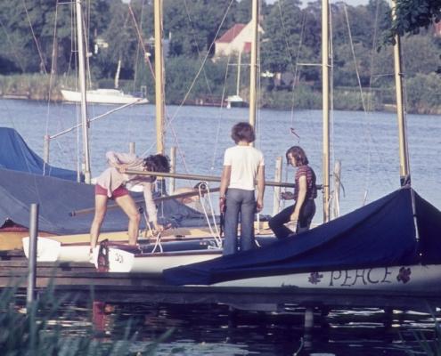 Jugend am 420er: Wolf-Dieter Kunze, Rainer Winkelmann & Guido Liebing