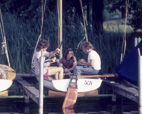 Jugend am 420er: Wolf-Dieter Kunze, Guido Liebing & Rainer Winkelmann