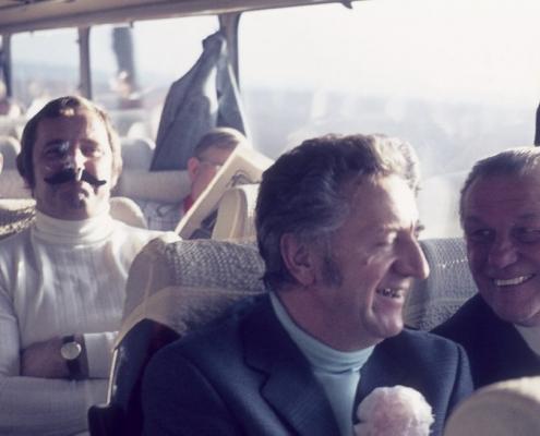 Bußtag: Busfahrt nach Dänemark (Herrenpartie über Travemünde): Achim Schönfelder, Gerhard Schäfer & Herbert Berlin