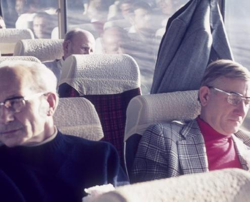 Bußtag: Busfahrt nach Dänemark (Herrenpartie über Travemünde): Rudi Sachs & Egon Jagsch