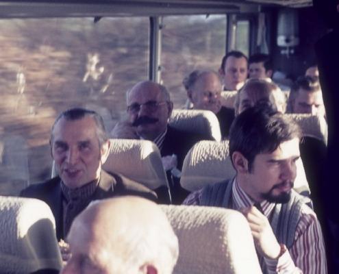 Bußtag: Busfahrt nach Dänemark (Herrenpartie über Travemünde): Heinrich & Peter Germelmann