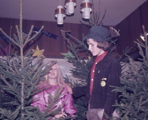 Weihnachtsfeier: Karola Lehmann & Lars Rückward
