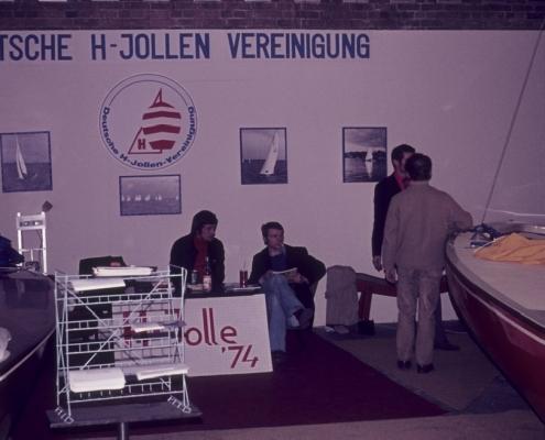 Wassersport-Ausstellung: H-Jollenstand