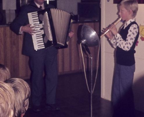 Weihnachtsfeier: Gerhard Schäfer & Mathias Schönfelder