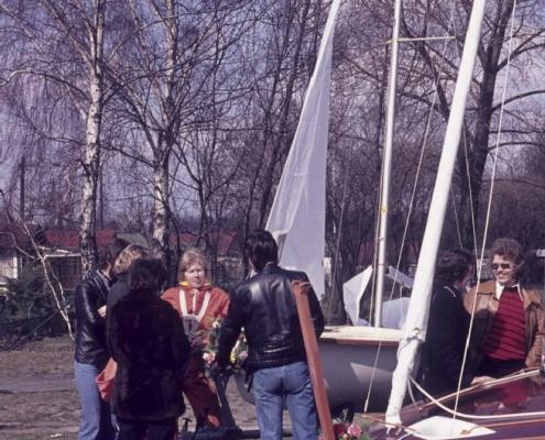 Bootstaufe: rechts außen (Rainer Winkelmann)