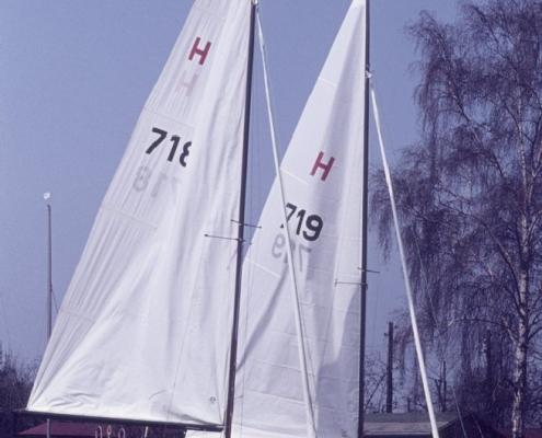 Bootstaufe H-Jolle: Hans Lehmann