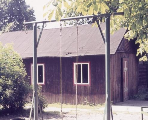 Altes Jugendhaus vor dem Abriss