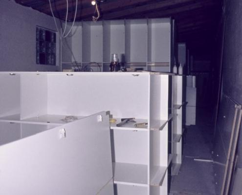 Neubau Garderobe