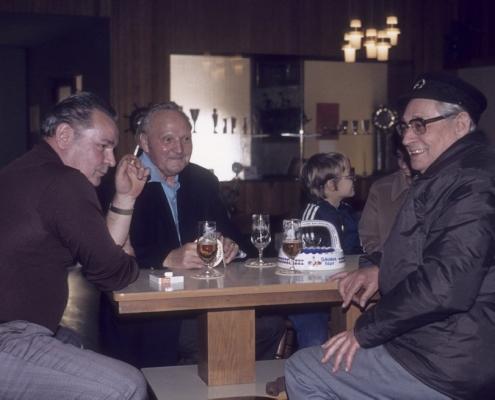 "Gerhard ""Pospi""/Pospieszala, Segelmachermeister Klammer & Bernhard Nölte"