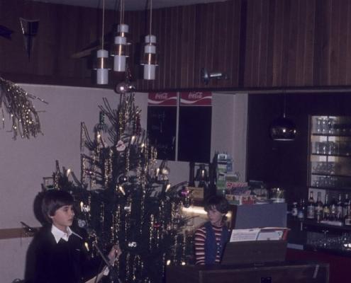 Weihnachtsfeier: Thomas Nerlich & Martina Wolf