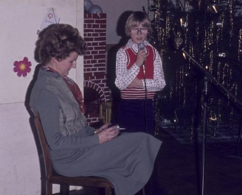 Weihnachtsfeier: Inge & Andreas Steffenhagen