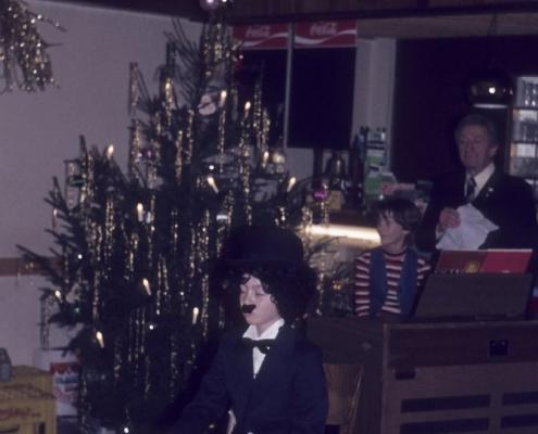 Weihnachtsfeier: Kathrin Braschoß, Martina Wolf & Gerhard Schäfer