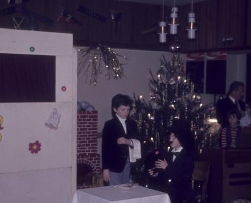 Weihnachtsfeier: Stefan & Katrin Braschoß