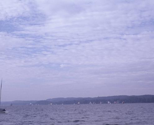 20er Wettfahrt auf dem Starnberger See