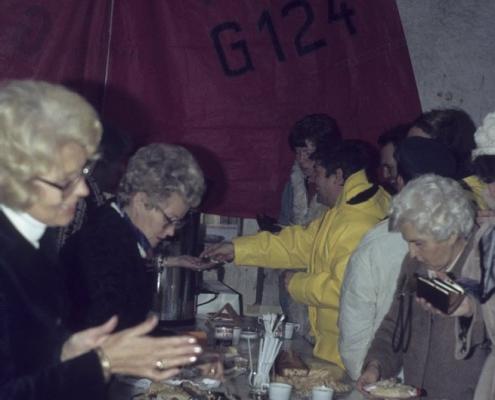Absegeln im SCN: links: Ruth Balzer & Vera Jaeger