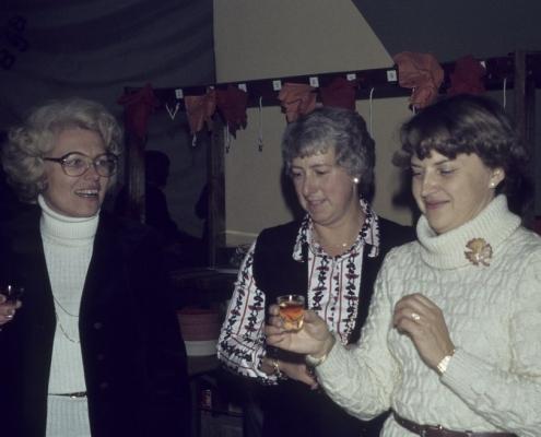 Absegeln im SCN: Ruth Balzer, Marlu Lehmann & Erika Liesecke