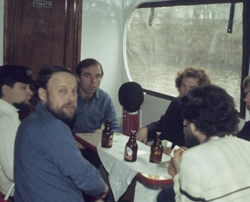 Bußtag Dampferfahrt: Hans-Jürgen Saegert, Frank Ehlert, Manfred Schröter & Klaus Großpietsch